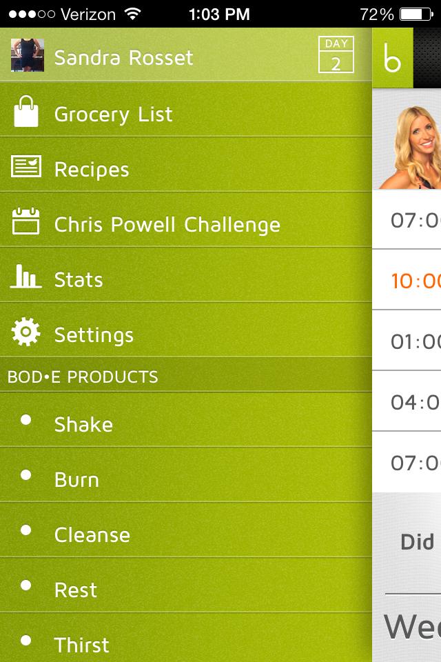 Settings on the Vemma App