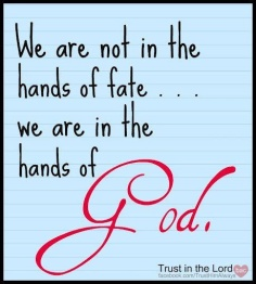 In the Hands of God