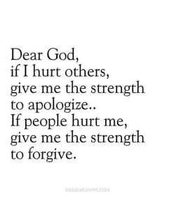 strength to forgive