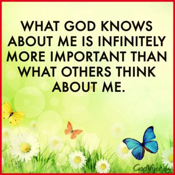 What God Thinks about me 2